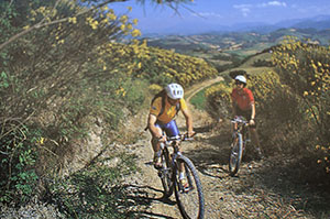 Agriturismo con mountain bike